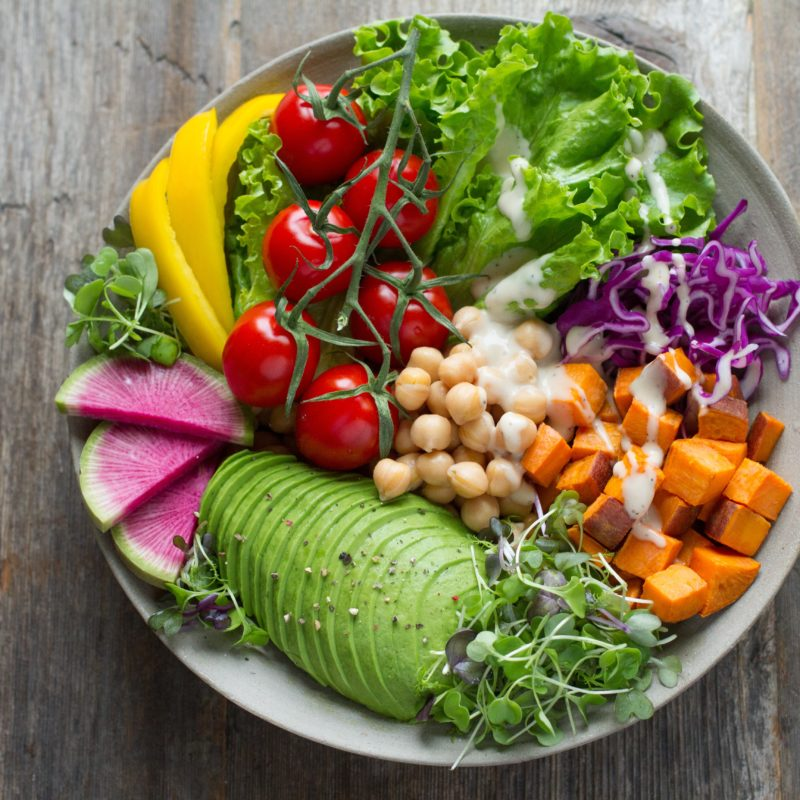 Eat more fruits and veggies this year