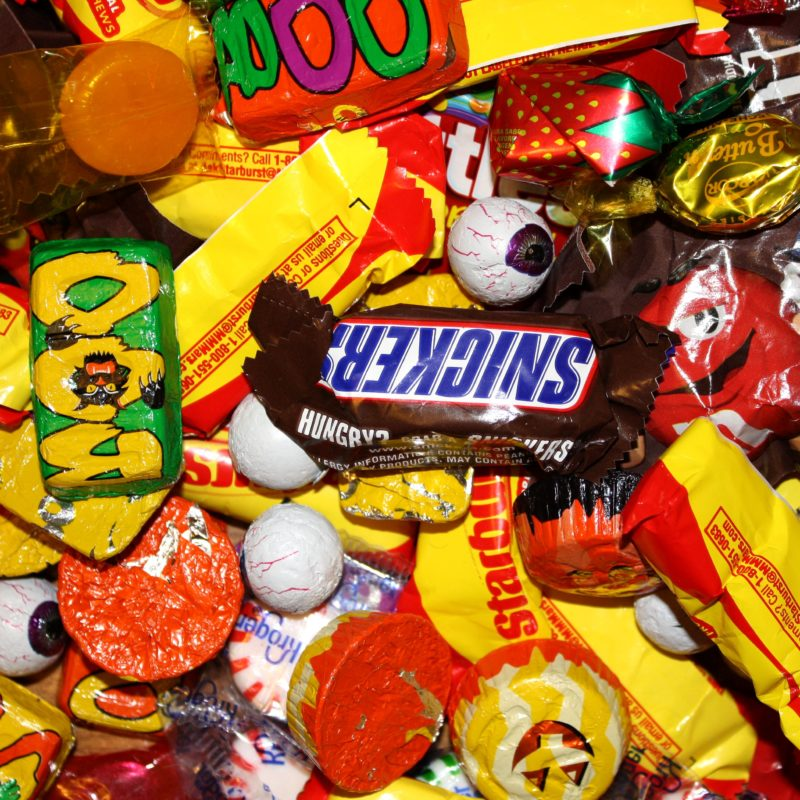Use up your Halloween candy